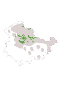 Verbreitungskarte Thüringen