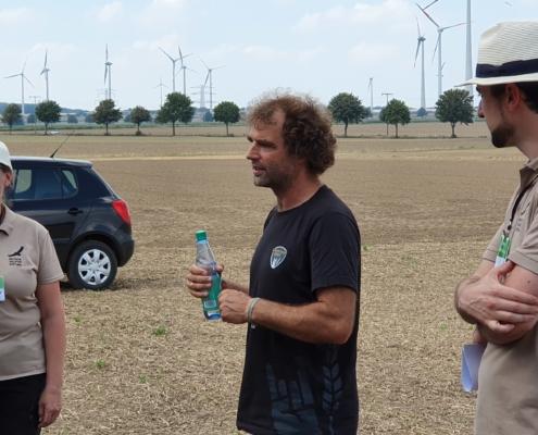 Landwirt Volker Thörmann erklärt, warum auch er Schutzmaßnahmen für den Feldhamster umsetzt