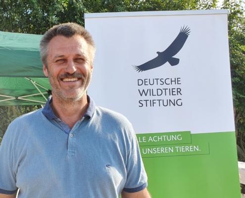 Auf der Hamsterfläche von Dietmar Brandt fand der Feldhamster-Aktionstag bei Salzgitter-Lesse statt. Die Deutsche Wildtier Stiftung sagt Danke! Die Zusammenarbeit mit Landwirten ist die zentrale Maßnahme, um Lebensraum für Feldhamster zu erhalten und auszubauen.