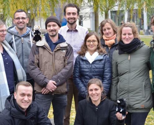 Das Team hinter dem Projekt Feldhamsterland