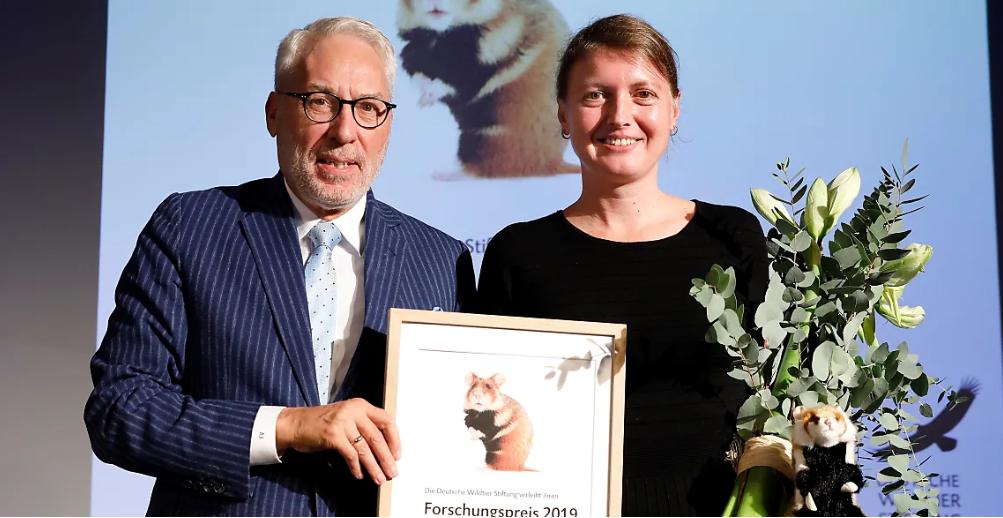 Forschungspreisverleihung der Deutschen Wildtier Stiftung