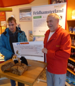 Bäckerei Süpke - Brot für Feldhmasterschutz
