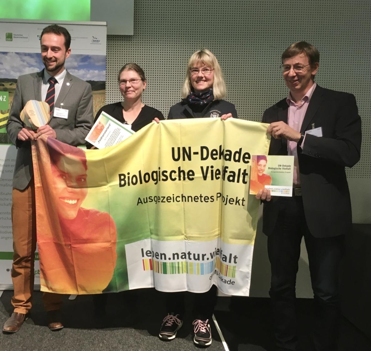UN Dekade Biologische Vielfalt Preisverleihung