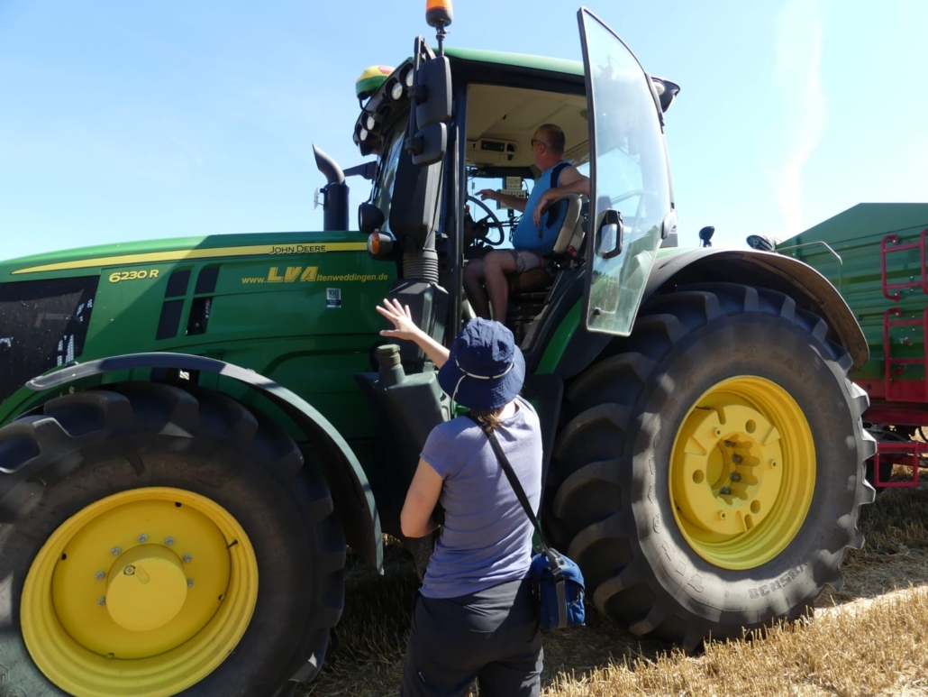 Der direkte Kontakt zu den landwirtschaftlichen Betrieben ist wichtig