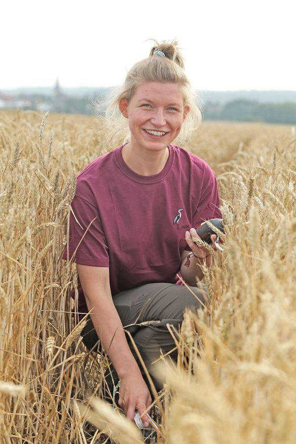 Feldhamsterland Regionalkoordinatorin Sarah Gärtner